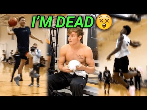Mac McClung, JQ & Kevin Porter Got LIVE At The Allen Iverson Combine! EPIC SCRIMMAGE HIGHLIGHTS