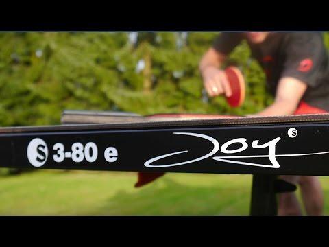 Sponeta Outdoor Tisch S 3-80 e Joy im Test  | Tischtennis Helden