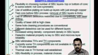 Mod-06 Lec-31 Conventional Vs HDI Technologies; Flexible Circuits; Tutorial Session