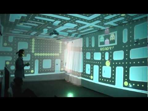 3D PacMan Fills an Entire Room
