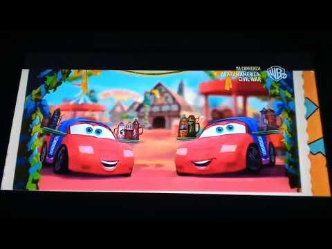 Cars 2 Una Nueva Aventura Sobre Ruedas Creditos En Warner Channel HD