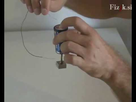 Electric motors - physics experiment