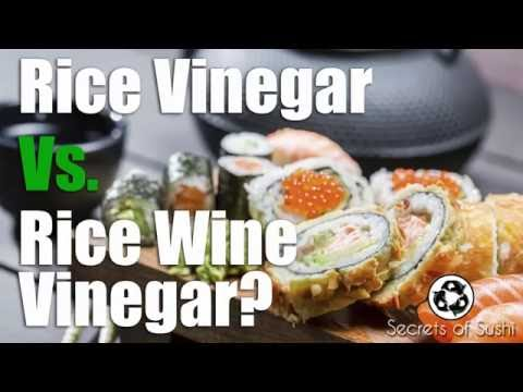 Rice Vinegar Vs Rice Wine Vinegar - Which One Should Be Used For Sushi?