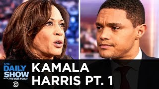 Kamala Harris - How to Fix Policing and Criminal Justice in America | The Daily Show