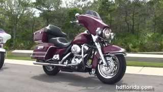 2. Used 2006 Harley Davidson Electra Glide Classic Motorcycles for sale  - Jacksonville, FL