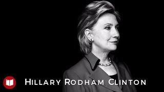 Le portrait d'Hillary Clinton