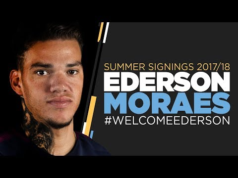 Video: EDERSON AGREES TO JOIN MAN CITY   First Interview