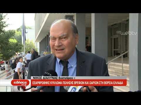 Εξαρθρώθηκε κύκλωμα πώλησης βρεφών και ωαρίων στη Βόρεια Ελλάδα | 26/09/2019| ΕΡΤ