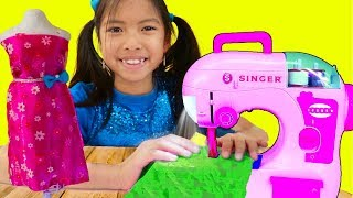 Wendy Pretend Play w/ Sewing Machine Toy