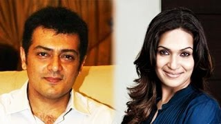 Soundarya Rajini likes to act with Ajith