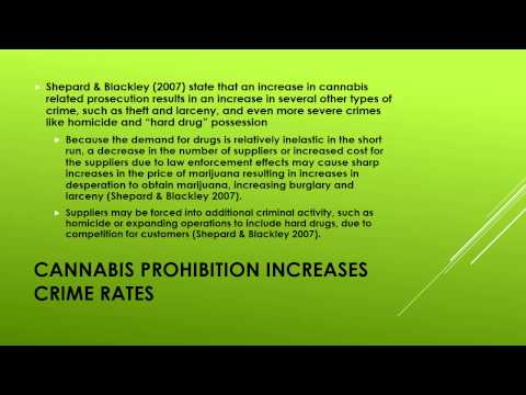 The Economic Effects of cannabis legalization