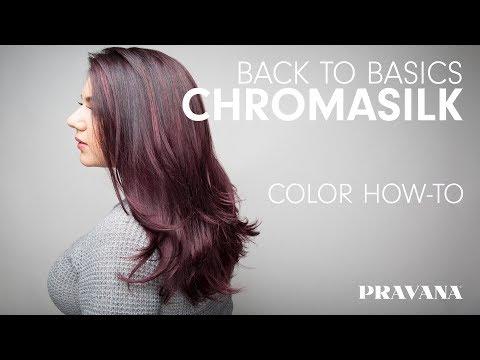 PRAVANA 180  ChromaSilk - Back to Basics Hair Color How-To