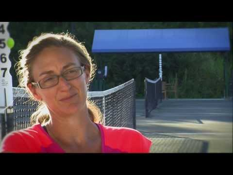 Mary Pierce falls and ENDS HER CAREER