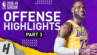 Video LeBron James BEST Offense Lakers Highlights from 2018-19 NBA Season! EPIC Beast Mode! (Part 3) MP3, 3GP, MP4, WEBM, AVI, FLV September 2019