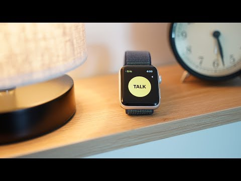 Hands On with Walkie-Talkie in watchOS 5