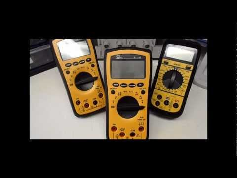 How to Setup an Electronics Lab: Multimeter
