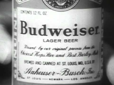 Budweiser Commercial (1956)