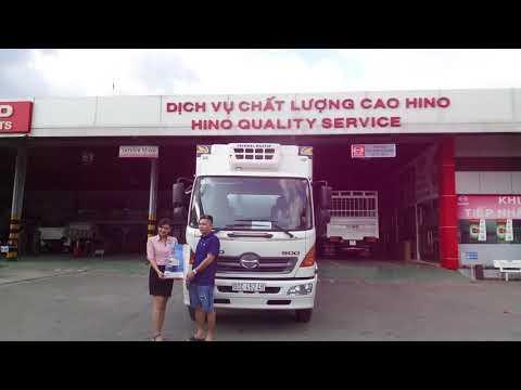 TRAN AUTO cung cấp XE TẢI ĐÔNG LẠNH HINO JC9JJTA cho khách hàng