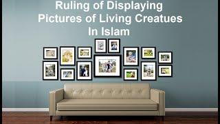 Ruling of Hanging Pictures In Home / Hukum memanjang foto di rumah