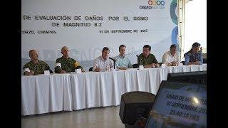 EN VIVO: Conferencia de Peña Nieto sobre sismo de 8.2