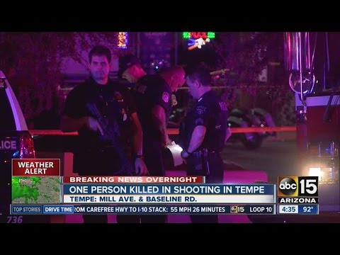 Tempe Police investigating deadly shooting on Mill Avenue