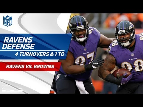 Video: Baltimore's Defense Forces 4 Turnovers & Gets 1 TD! | Ravens vs. Browns | Wk 15 Player Highlights