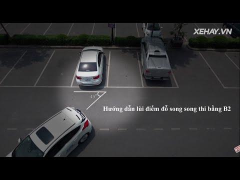Hướng dẫn lùi điểm đỗ song song thi bằng lái B2