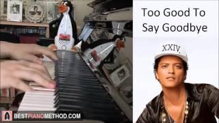 Bruno Mars - Too Good To Say Goodbye (Piano Cover by Amosdoll)
