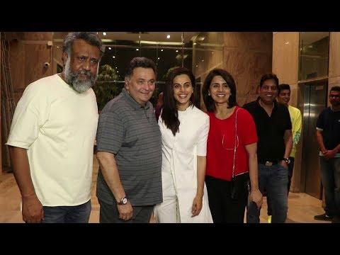 MULK Movie Special Screening | Rishi Kapoor, Neetu