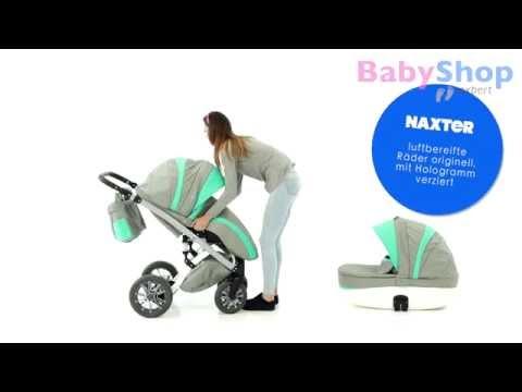 Kinderwagen Naxter 3in1 test - babyshop.expert