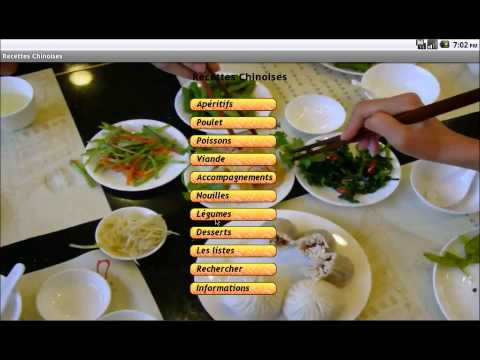 Video of Cuisine Chinoise : Recettes