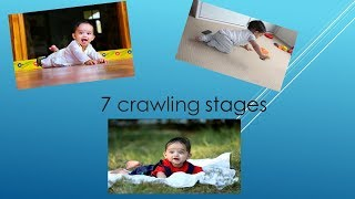 aditya's crawling stages from the birth, he started moving forward at 3months old ,