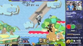 Cloudburst goes for gfycat moments this entire match [sanchAZ (Fox) vs Cloudburst (Squirtle)]