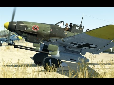 IL-2:Battle of Stalingrad. Ju 87-G Kanonenvogel (modified D3)