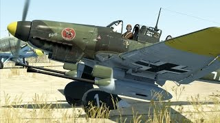 "Ju 87-D3 with 37 mm canons coop flight in IL-2:BoS. Just enjoying ingame graphics, sound and physics, not teaching anything.Game page - http://il2sturmovik.com/Forum - http://forum.il2sturmovik.com/Online interactive war - http://inwar.club/en/o-proekte/============================================Donate to Zetexy Channel ≡ Bitcoin: 36P3fBombWpxGwpttX1yujnR6D7bPvhp4D============================================Music track - ""Locked Out"" https://www.youtube.com/audiolibrary/musicMusic copyright ® by YouTube Audio Library."