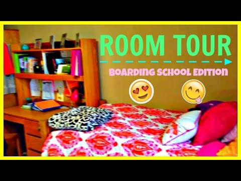 ROOM TOUR 2015| Boarding School Edition