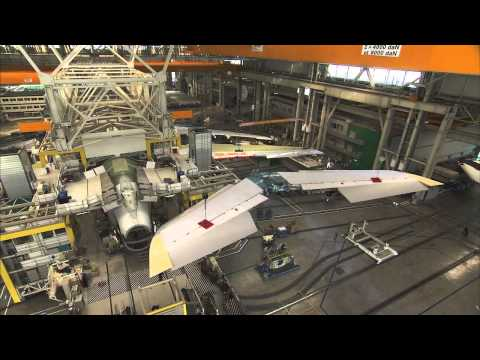 production - In this video montage, the first A380 for Abu Dhabi-based Etihad Airways takes shape at Airbus production facilities ahead of the December 2014 delivery. Etihad will be the 13th operator worldwide...