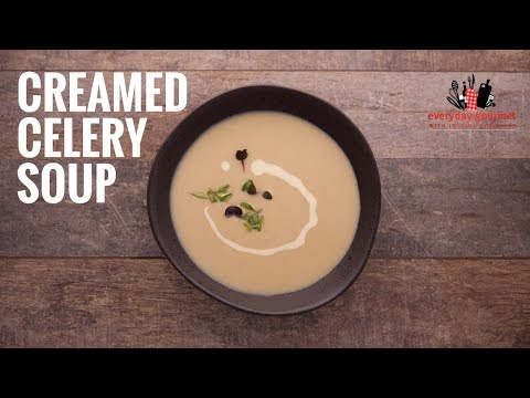 BOSCH Creamed Celery Soup | Everyday Gourmet S6 E12