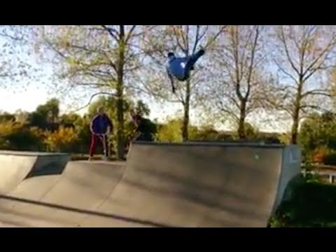 Hilarious BMX Crash