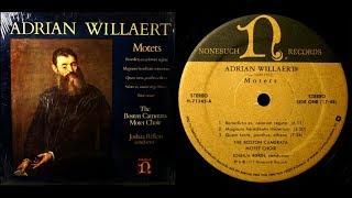 AdrianWillaert/BostonCamerata,1975:ThreeMotets-NonesuchLP