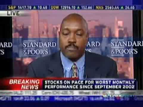 CNBC LIVE BLOOPER - Financial Analyst's Weird Strange Moment