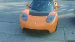 Tesla Roadster Sport 2010 Test Drive