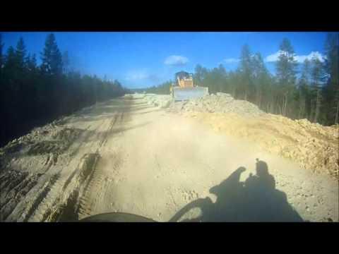 Skovorodino to Yakutsk. July 2014.  The Gateway to the Road of Bones (видео)