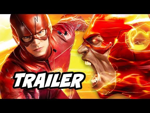 The Flash Season 5 Trailer Comic Con 2018 - Barry Gets The Flash Ring