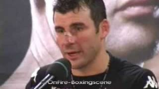 Joe Calzaghe Speaks After Beating Roy Jones