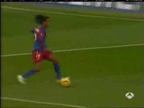Ronaldinho en el Barcelona