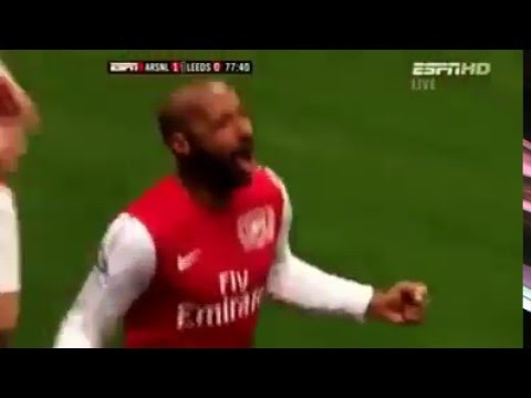 Thierry Henry Last Goal For Arsenal !