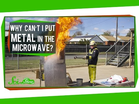 Why Can't I Put Metal in the Microwave?