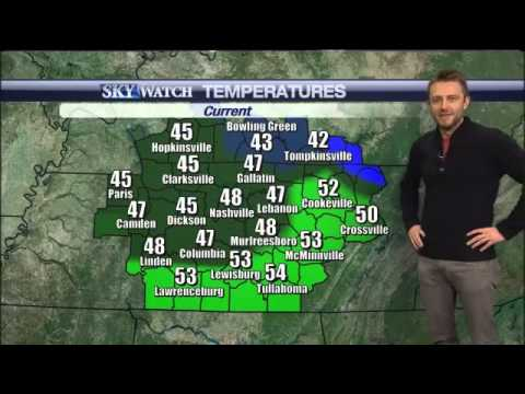 Comedian Chris Hardwick Does the Weather