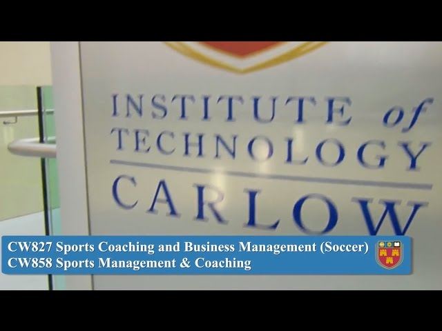 Sports Coaching and Business Management (Soccer); Sports Management and Coaching